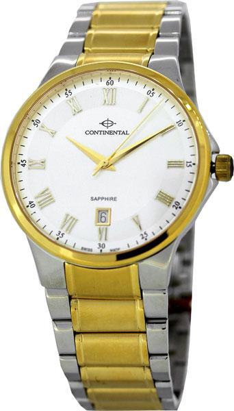 b0808b24 Купить Мужские швейцарские наручные часы Continental 14201-GD312710 ...