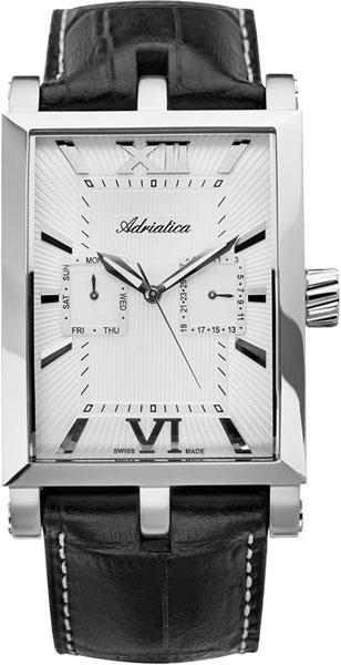 Мужские швейцарские наручные часы adriatica a1230 1263q