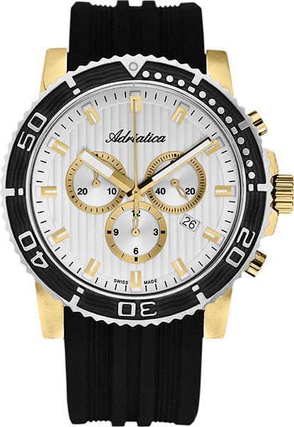 швейцарские кварцевые наручные часы Adriatica