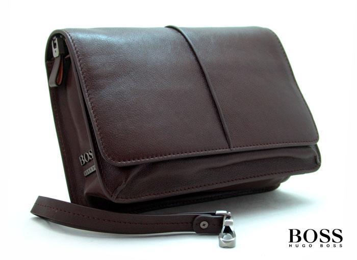 b76e6541180b Купить Барсетка Hugo Boss D6055-10-47BR | «ТуТи.ру» - Брендовый ...