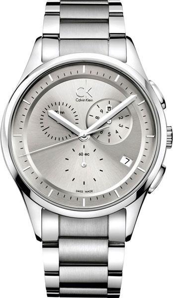 b6eea133 Мужские швейцарские наручные часы Calvin Klein K2A27126 с хронографом 1