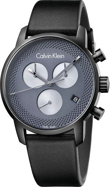 cb9f6add Мужские швейцарские наручные часы Calvin Klein K2G177C3 с хронографом 1