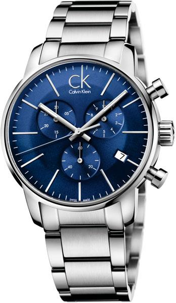 cab57c69 Мужские швейцарские наручные часы Calvin Klein K2G2714N с хронографом 1