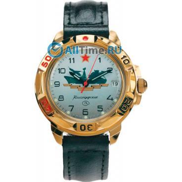 3272d7da9496 Мужские российские механические наручные часы Восток Командирские 439823