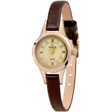 9372dfb3 Купить Женские российские золотые наручные часы Ника 0303.0.1.47 ...