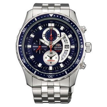 3eef40df Купить Мужские японские наручные часы Orient TT0Q002D с хронографом ...